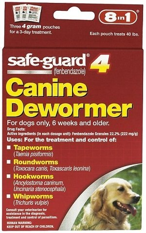 8in1 Safe Guard Canine Dewormer