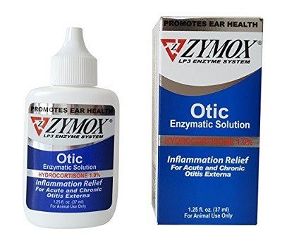 Pet King Brands Zymox Otic Pet Ear Treatment with Hydrocortisone