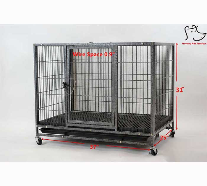 homey pet heavy duty dog crate