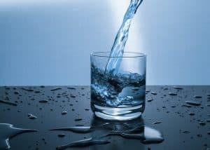 water glass fill