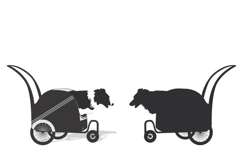 large dog strollers