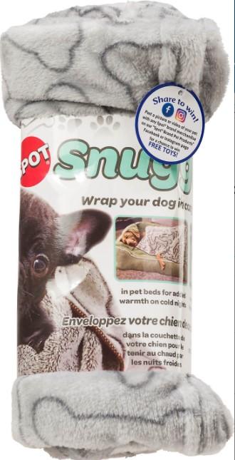 Ethical Pet Snuggler Patterned Dog Blanket