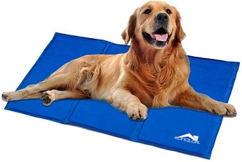 Whalek Cooling Mat Pressure Activated Chilly Dog Cat Bed Gel Mat