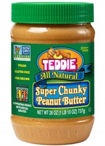 Teddie Super Chunky Peanut Butter