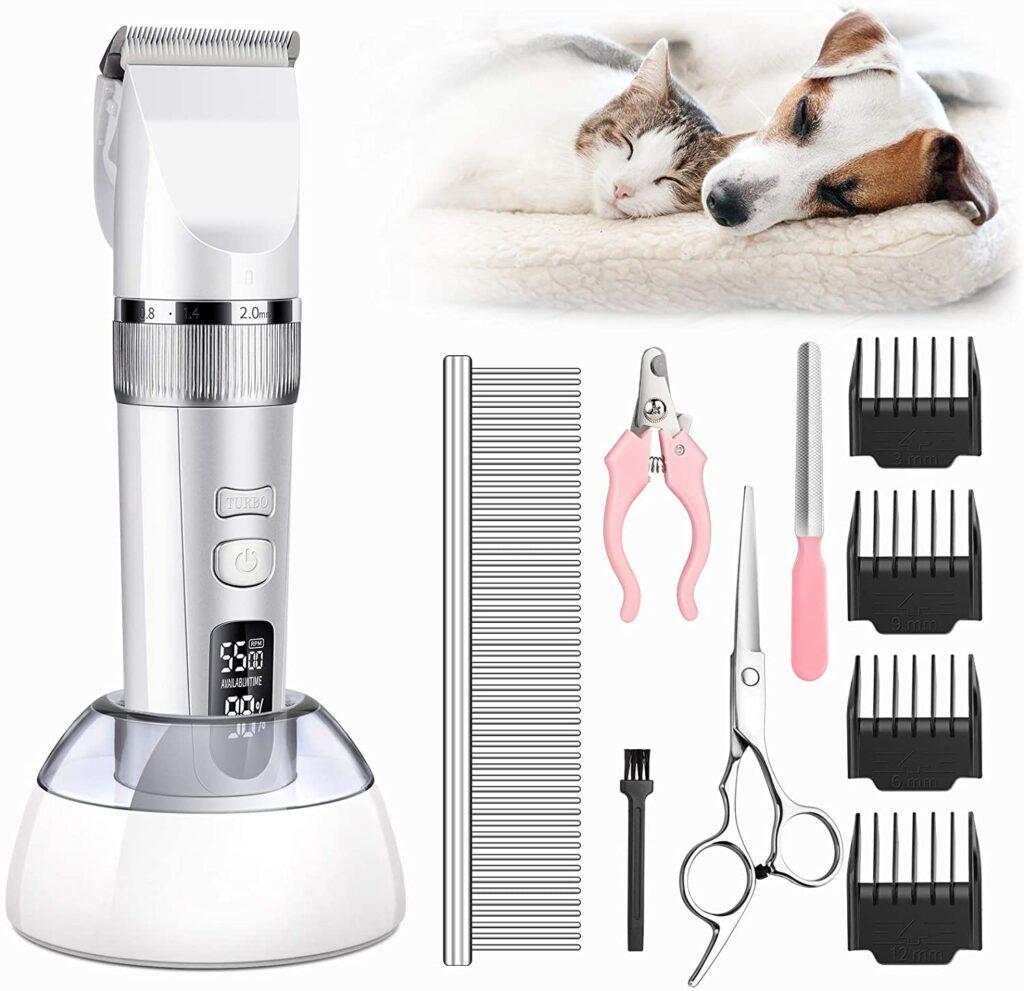 Monsonth Dog Grooming Clipper Kit