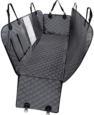 DKIIGAME Dog Car Seat Cover